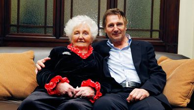 Liam Neeson and Kitty Neeson
