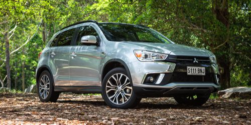 The Mitsubishi ASX is into its eighth year on the market.