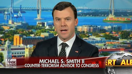 Michael S. Smith speaking on Fox News about Islamic State's actions in the cyber domain. Source: Michael S. Smith II -  www.terrorismanalyst.com