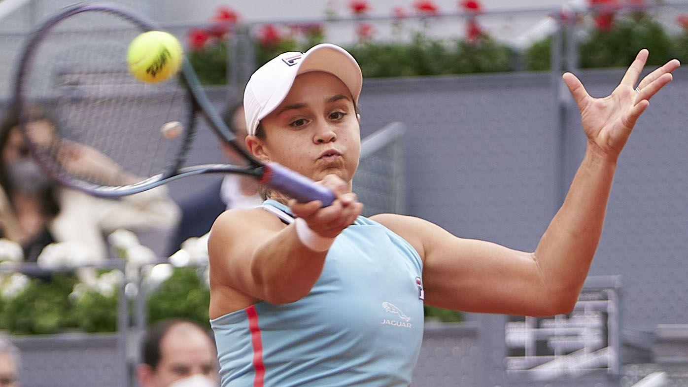 Australian world No.1 Ash Barty beaten in Madrid Open final by Aryna Sabalenka