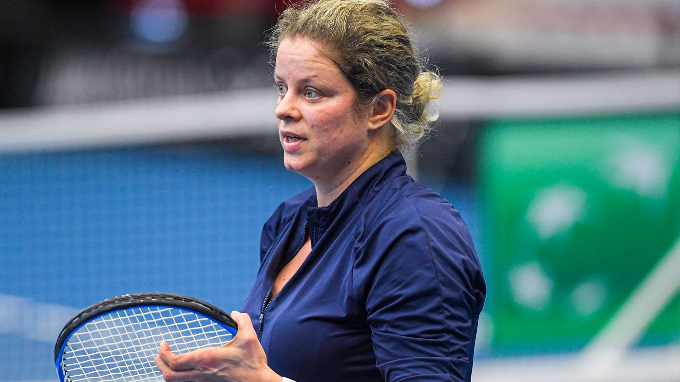 Kim Clijsters to make long-heralded return at WTA tournament in Dubai