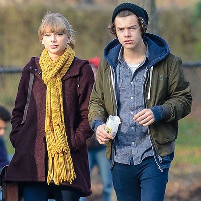 Taylor Swift and Harry Styles (December 2012 - January 2013)