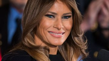 Melania Trump does not appear on the Forbes' 2017 list of the world's most powerful women (EPA/JIM LO SCALZO).
