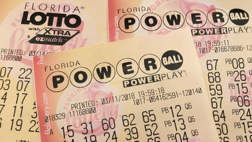 Someone won the Powerball jackpot, selecting all six numbers to win in Lutz, Florida.