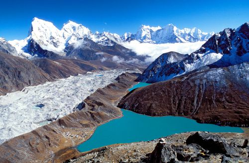 The mounting human waste on Everest threatens to contaminate the local environment.