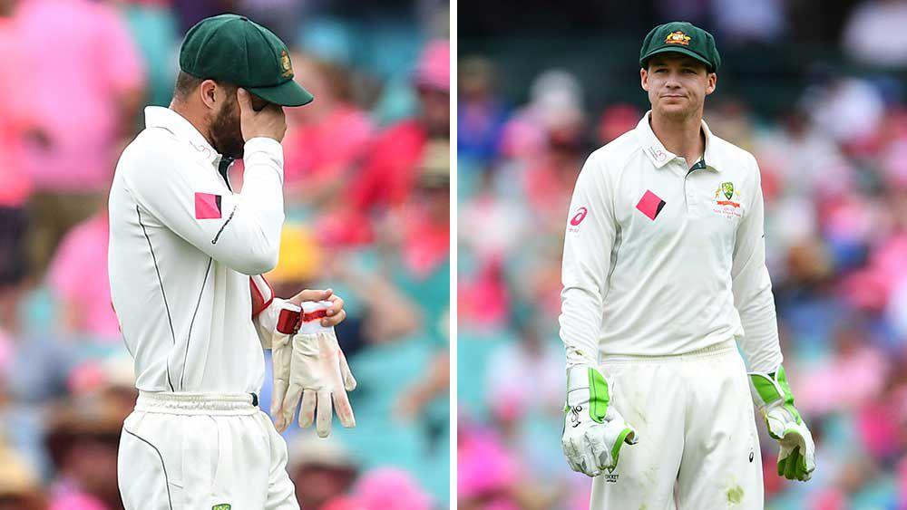 Handscomb gloves up against Pakistan