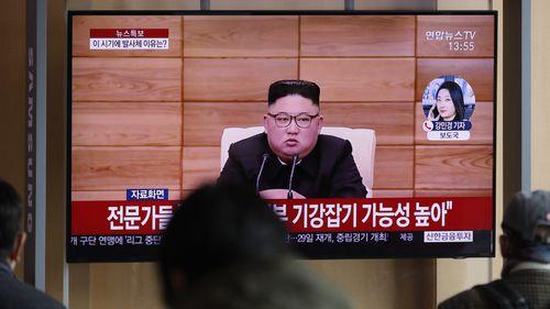 North Korean leader Kim Jong.