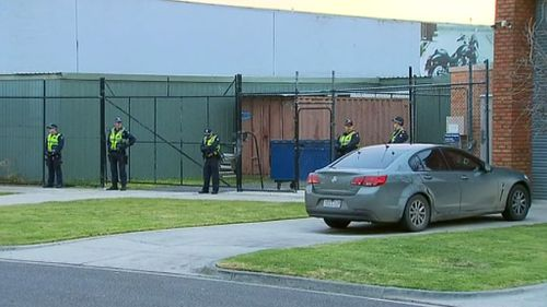 Officers were armed with warrants. (9NEWS)