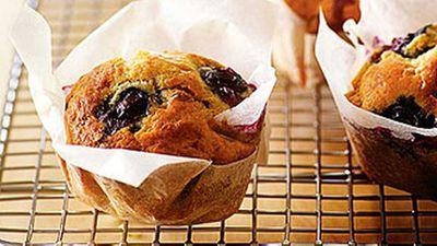 "<a href=""http://kitchen.nine.com.au/2016/05/19/15/11/banana-and-blueberry-muffins"" target=""_top"">Banana and blueberry muffins</a> recipe"