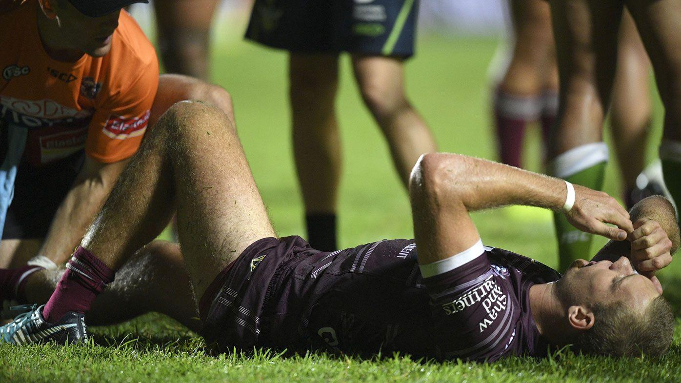 Tom Trbojevic injured after NRL blitzkrieg