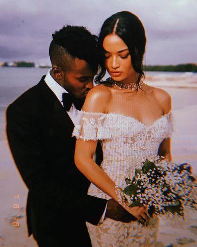 Greg 'DJ Ruckus' Andrews and Shanina Shaik wedding day