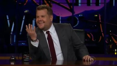 Why James Corden almost interrupted the Royal Wedding vows