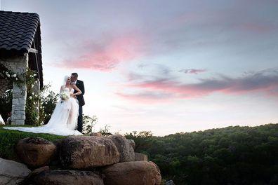 Gwen Stefani shares photos from her wedding day to Blake Shelton.