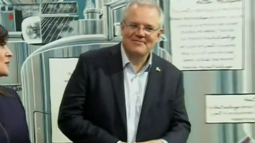 It's the first time Mr Morrison has been in negative territory in that category as Prime Minister.