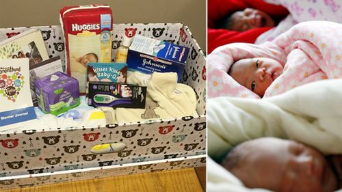 Finnish-style baby boxes trialled in Canada