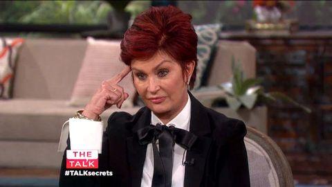 Sharon Osbourne's wrist-slashing shame: 'It's sad and pathetic'