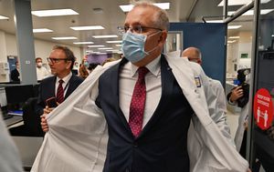 Breaking news and live updates: PM to reveal manufacturing boost; Queensland relaxes NSW border; DFAT accidentally shares email addresses of stranded Aussies; Pell lands in Rome ahead of Vatican visit