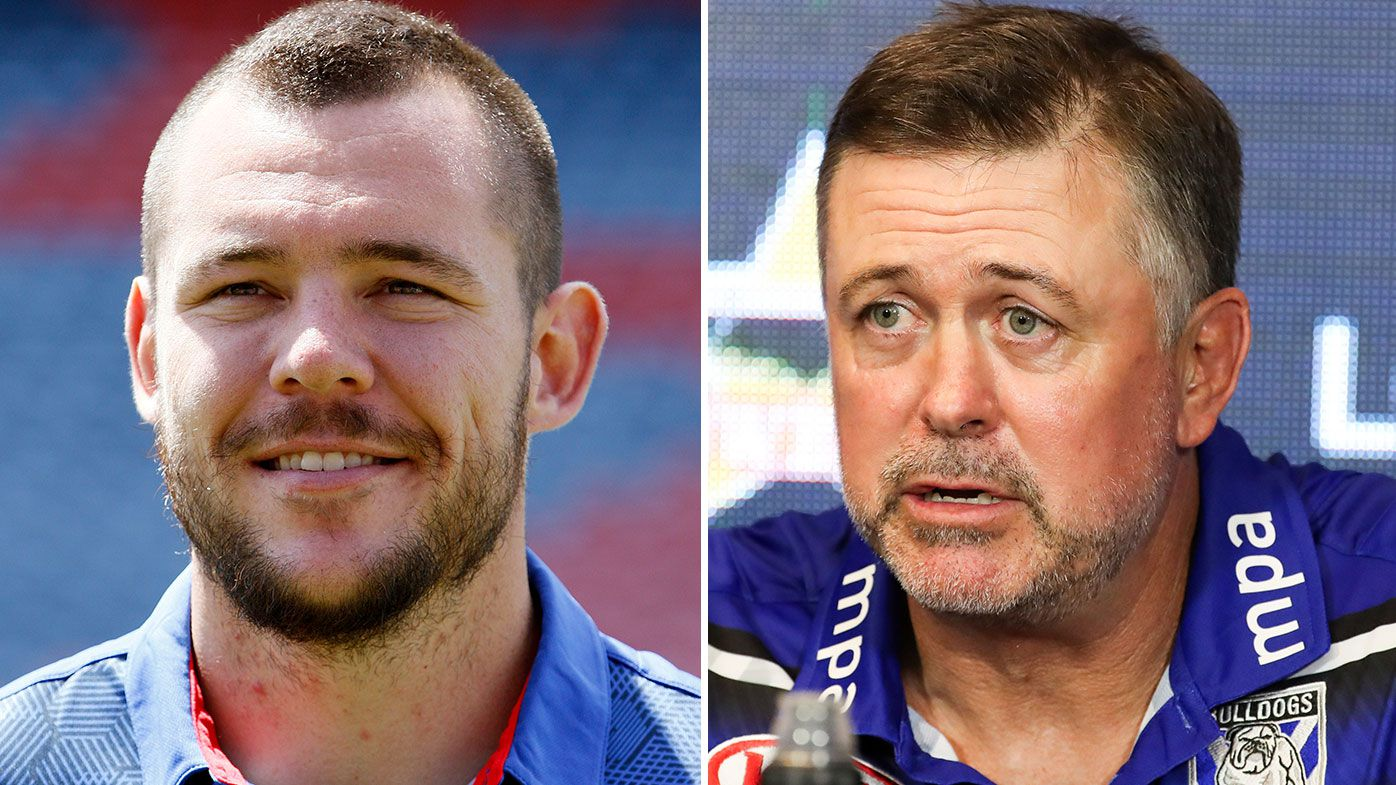 David Klemmer yet to speak to Bulldogs coach Dean Pay about departure