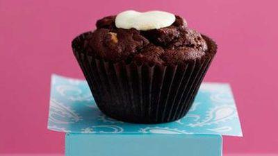 """<a href=""""http://kitchen.nine.com.au/2016/05/17/10/42/triple-choc-muffins"""" target=""""_top"""">Triple choc muffins</a> recipe"""