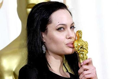 "<B>The Oscar:</B> Best Supporting Actress for <I>Girl, Interrupted</I>, at the 72nd Academy Awards (2000).<br/><br/><B>The speech:</B> Most people aren't afraid to admit they love their siblings, but few dare to reveal that they are <I>in love</I> with them. Ange is the exception, telling a confused audience about her feelings for her brother during her speech.<br/><br/><B>Best bit:</B>""I'm so in love with my brother right now!"""