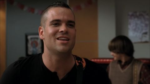 "Mark Salling stars as ""Puck"" on Glee"