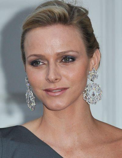 Diamond statement earrings