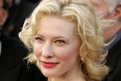Cate Blanchett, porcleain doll.