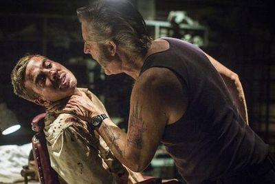"""After the popularity of <i>Packed to the Rafters</i>, Ryan was cast alongside John Jarratt in the <i>Wolf Creek</i> sequel in 2013. But the violent role had an emotional impact on the star.<br/><br/>""""Definitely there's an emotional hangover that comes with a film like this,"""" he told news.com.au in February 2014. """"I have lost my voice five times already and I can often be emotionally exhausted but I will come home and listen to my music and talk to my family.""""<br/><br/>Image: <i>Wolf Creek 2</i> / Roadshow"""