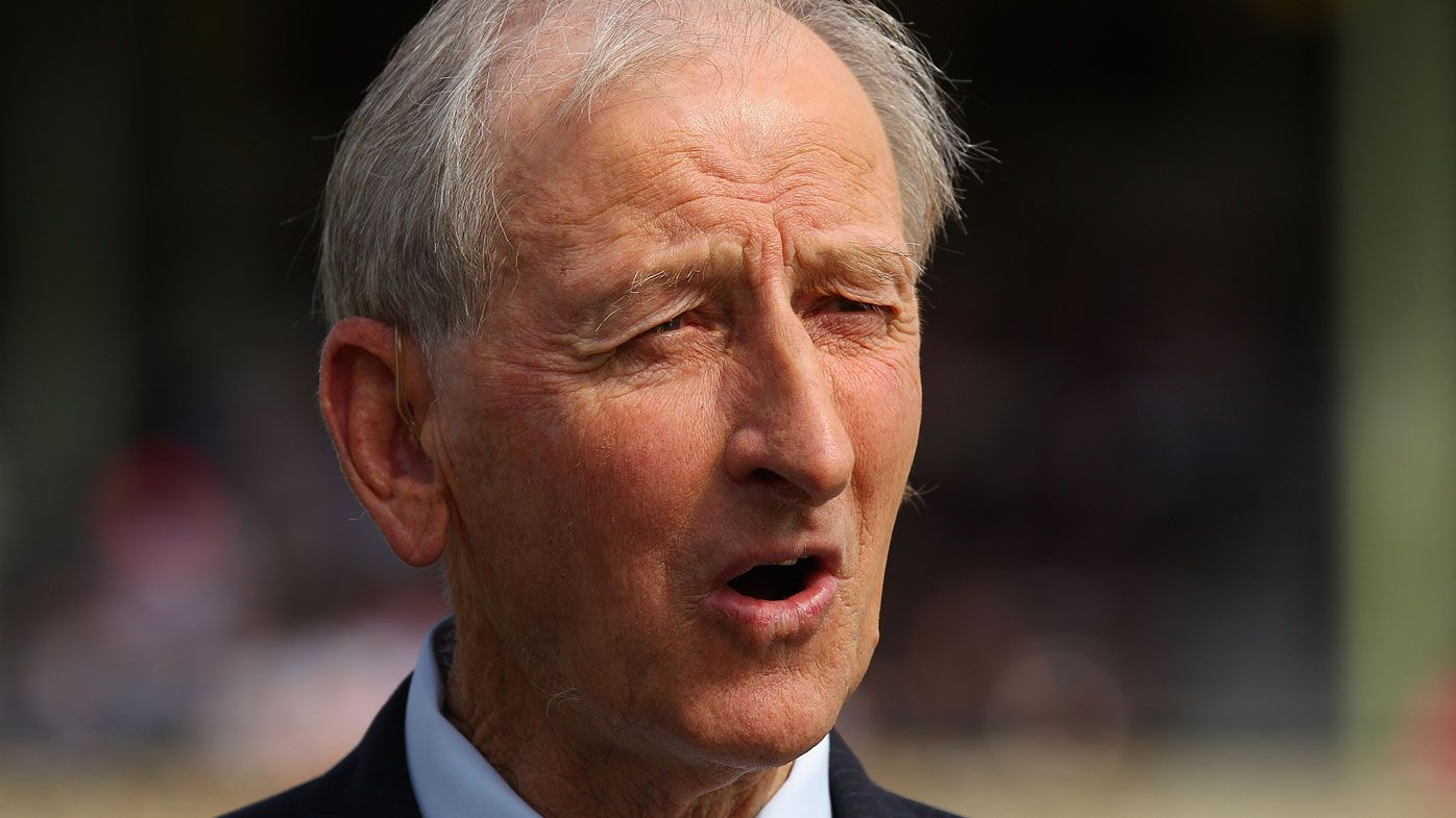 Bill Lawry. (Getty)