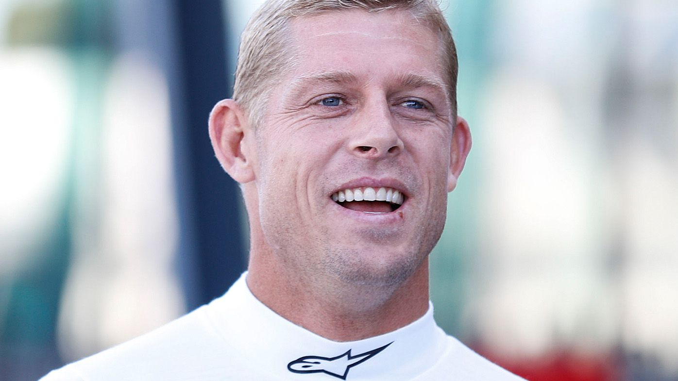 Mick Fanning World Surf League return temporarily halted after shark sighted in Sydney