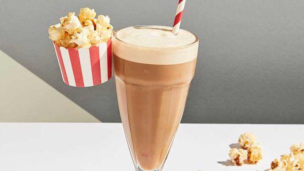 Popcorn latte