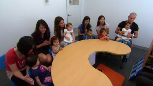 Aussie babies already learning to study maths, English and even foreign languages