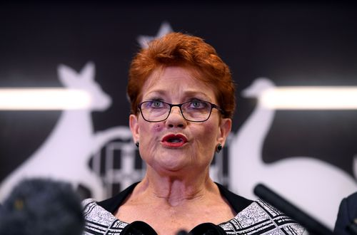 Queensland Senator and One Nation leader Pauline Hanson has indicated she will put Labor last on One Nation's how-to-vote cards in four critical seats.