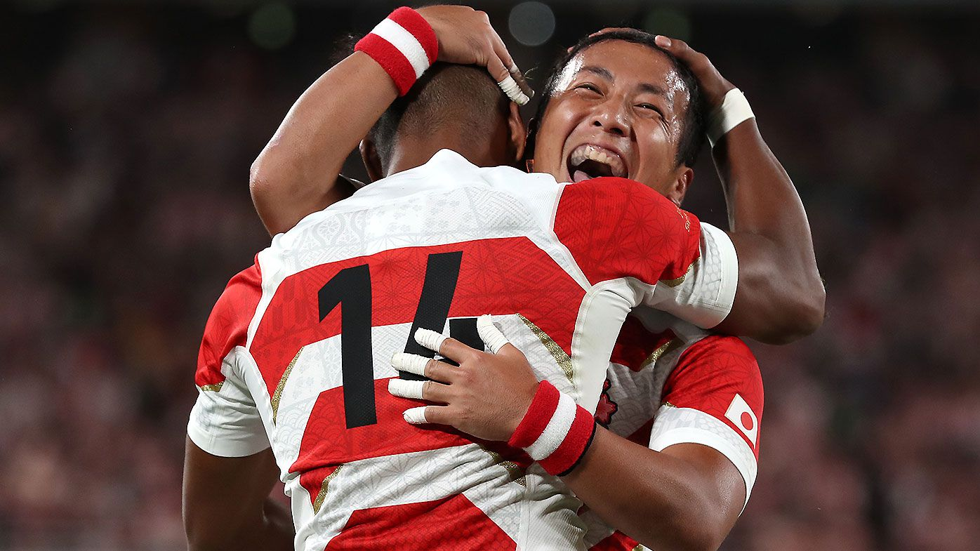 Kotaro Matsushima stars as Japan open Rugby World Cup with win over Russia