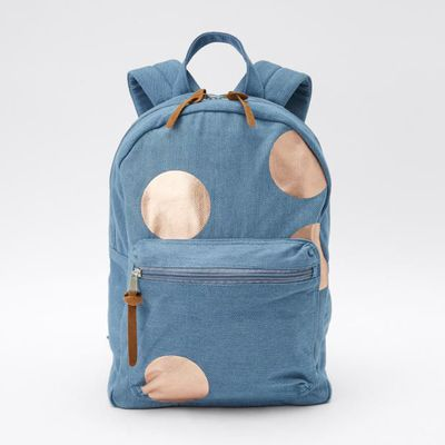 "<a href=""https://www.target.com.au/p/chambray-metallic-spot-backpack/59978138"" target=""_blank"" draggable=""false"">15. Target Metallic Spot BackPack, $15.</a><br> <br> <br>"