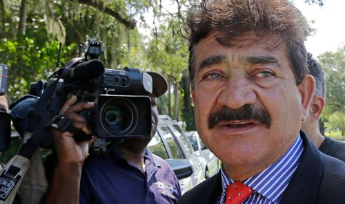 Seddique Mir Mateen, father of Omar Mateen, the shooter of the Pulse nightclub massacre in 2016. (AP).