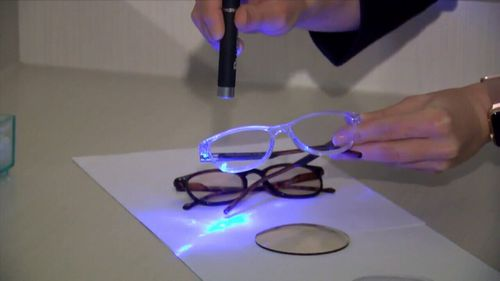 News Australia blue light blocking lenses optometrists scientific evidence