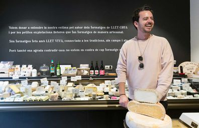 Fromagery / cheese shop Llet Crua, Barcelona
