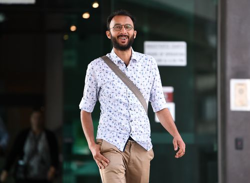 Brisbane city councillor Jonathan Sri successfully fought a ban on an environmental protest issued by Lord Mayor Adrian Schrinner.