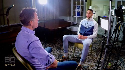 Simmons spoke with reporter Tom Steinfort. (60 Minutes)