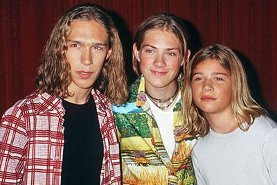 <b>Back in the 90s…</b> Before the Jonas Brothers were out of nappies, the Hanson brothers Zac, Taylor and Isaac ruled the tween music scene with their 1997 hit song 'MMMbop'.