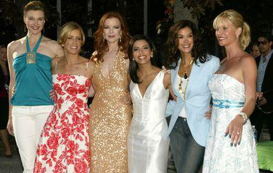 Brenda Strong, Felicity Huffman, Marcia Cross, Eva Longoria, Teri Hatcher and Nicolette Sheridan