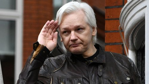 WikiLeaks founder Julian Assange's days at the Ecuadorean embassy could be numbered. Picture: AAP