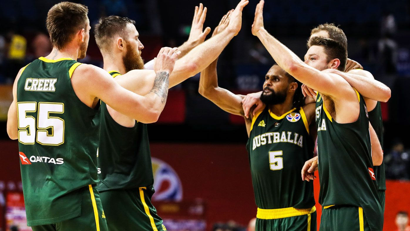 Undefeated, 'amazing' Aussie Boomers shock France at FIBA World Cup
