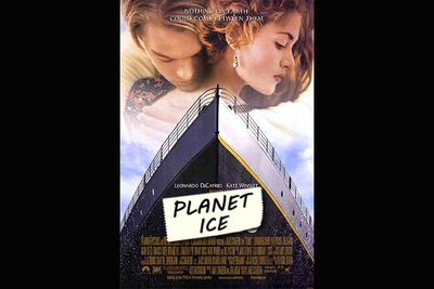 Weird fact #4: <i>Titanic</I>'s decoy title was the hilarious <i>Planet Ice</i>!