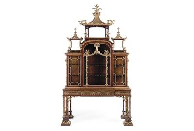 This Chippendale cabinet sold for more than $5 million. Pic: Christie's