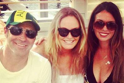 "@mscharlotted: ""With @nikkimp73 & Eddie #happyaustraliaday"""