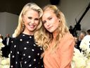 Christie and Sailor Brinkley Cook
