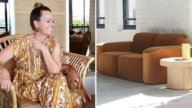 Deb Saunders on couch styles currently trending