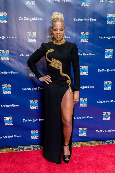 Mary J. Blige in Temraza at the 2017Gotham Awards
